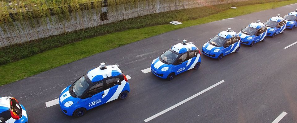 Self-driving Chinese Baidu cars begin public tests