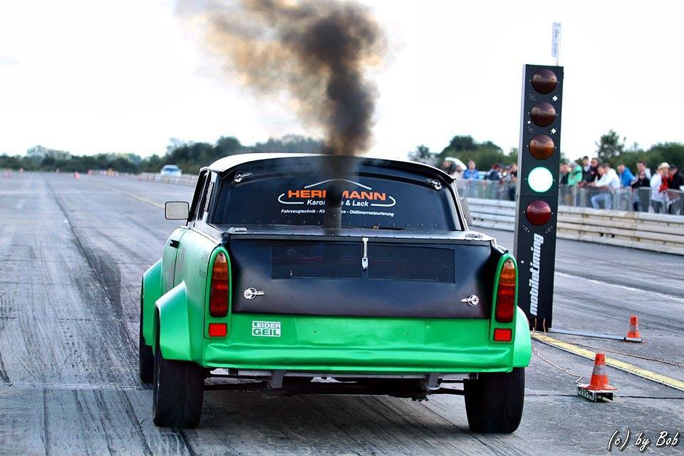 Trabant 601 with VW Turbo Diesel