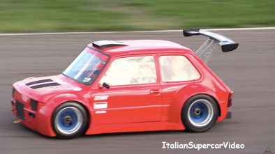 Fiat 126 with Honda CBR1100XX engine