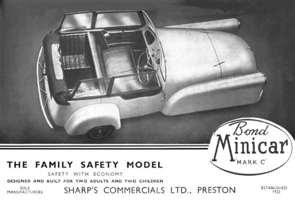 Bond Minicar Mk C Safety Family