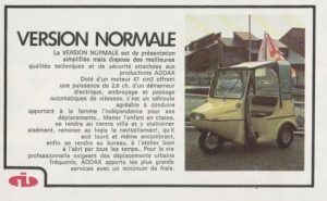 Addax Type 47 Version Normale