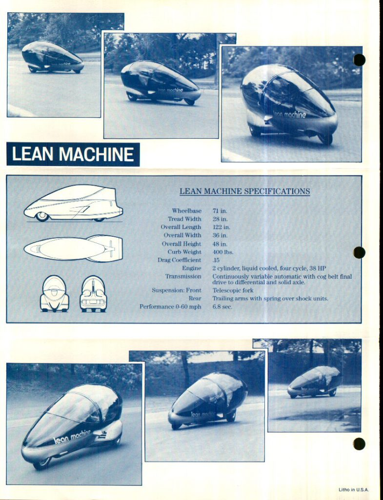 GM Lean Machine