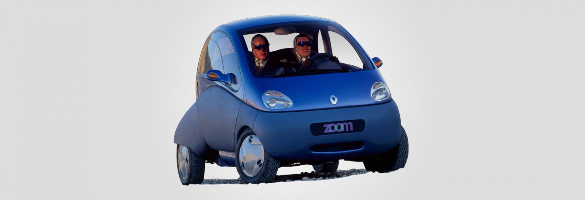 Zooming Car Renault Zoom co...