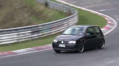 350hp seat arosa is the perfect nurburgring sleeper microcar