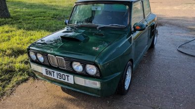 Leyland Mini with BMW E30 M3 styling