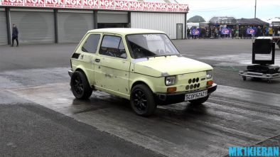 Fiat 126 with Toyota MR2 engine