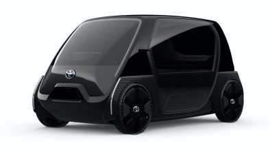 Toyota Ultra-Compact BEV Concept Model for Business