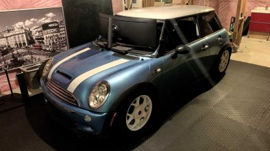 Mini Cooper racing simulator