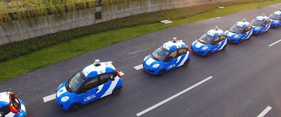 Self-driving Chinese Baidu cars begin public tests
