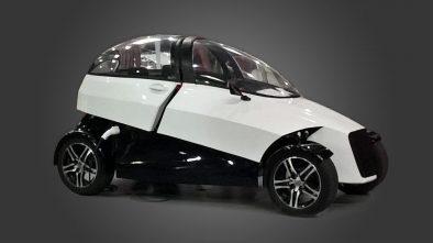 4ekolka 3d printed car