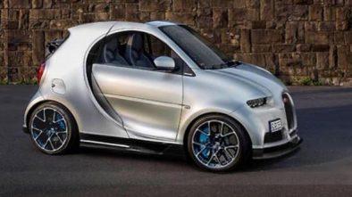 Bugatti Chiron microcar