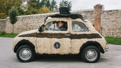 This Fiat 500 is the hairest car in the world