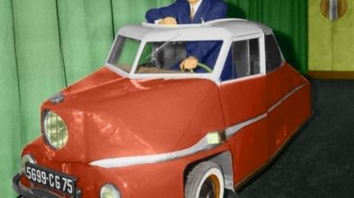 André Siames' Electric Car
