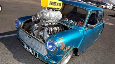 Mini with V8