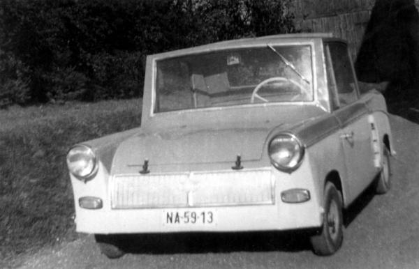 Simon Ernő home-built car