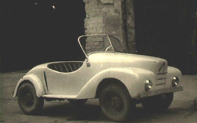 Endre Surányi dwarf cars