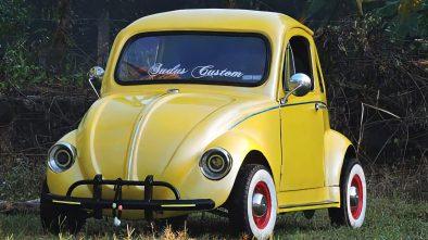 Home-built Volkswagen Beetle from India