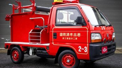 Honda Acty Fire Truck