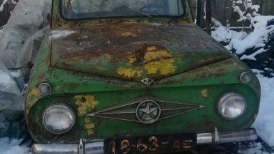 USSR home built car