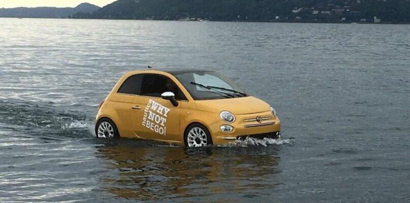 Fiat 500 boat