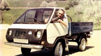 Khutorok home-built truck