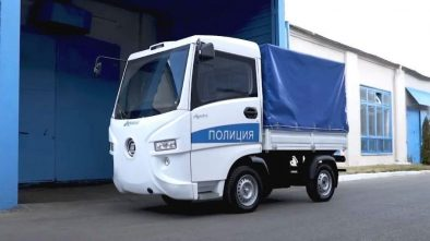 Police Ant truck