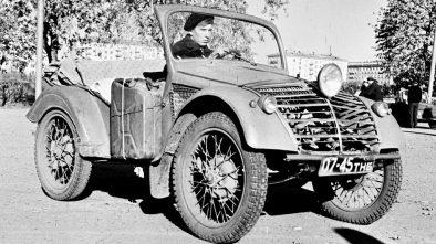 Yudin's home built car