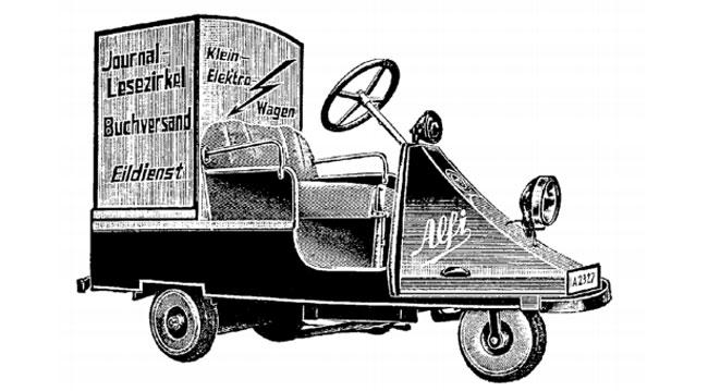 Alfi 3-wheel electric van